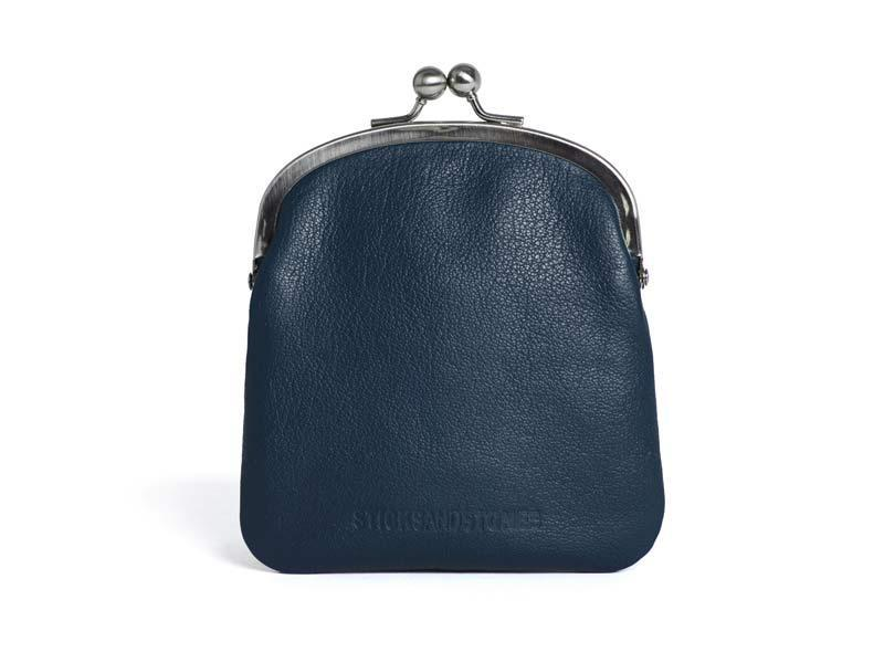 Sticks and Stones - Bügelbörse Delphi Purse - Dark Blue