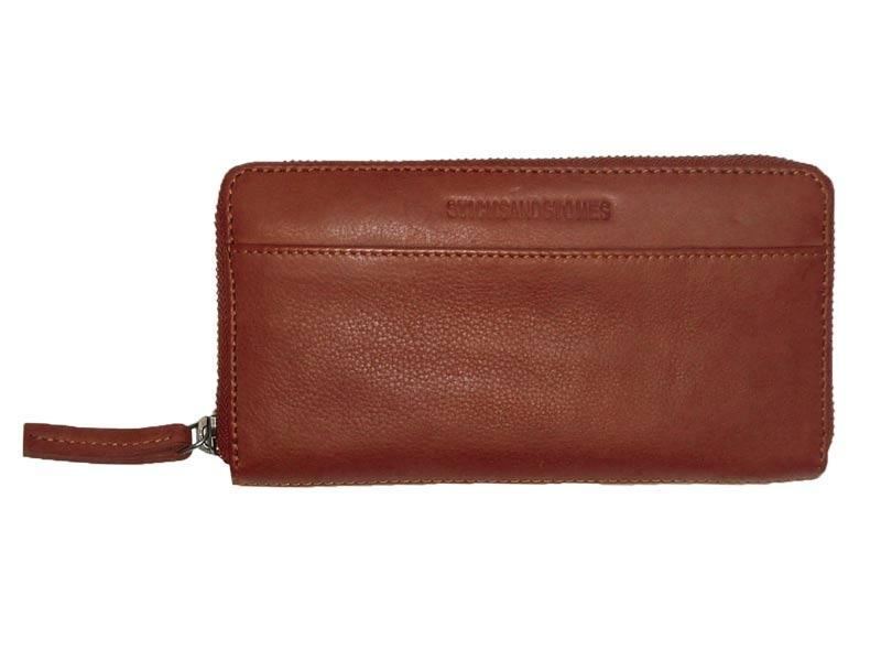 Sticks and Stones - Lederbörse Denver Wallet - Mustang Brown