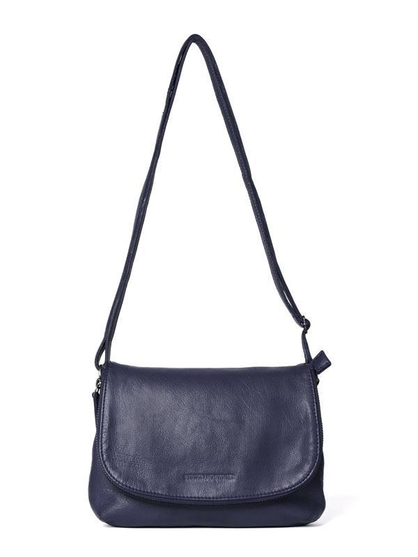 Sticks and Stones - Ledertasche Eden - Midnight Blue
