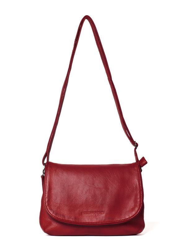 Sticks and Stones - Ledertasche Eden - Red