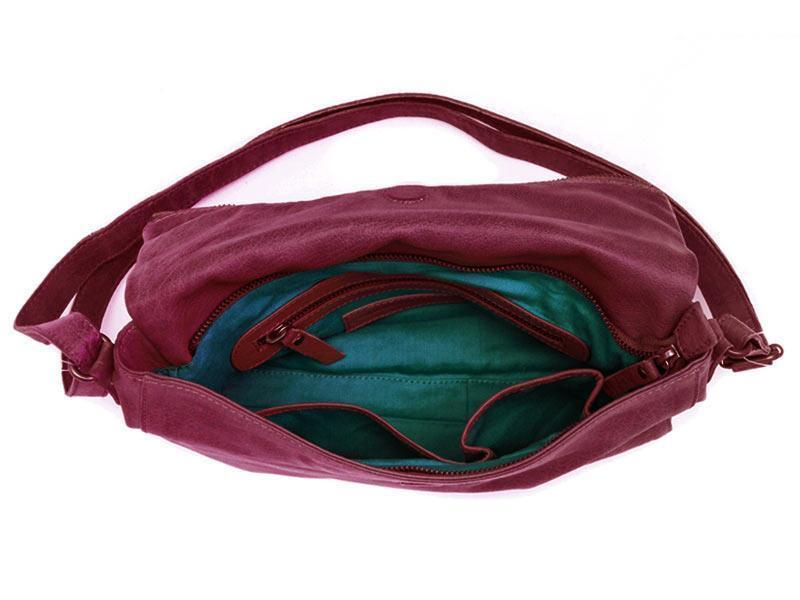 Sticks and Stones - Flamengo Bag - Fuchsia Innenansicht