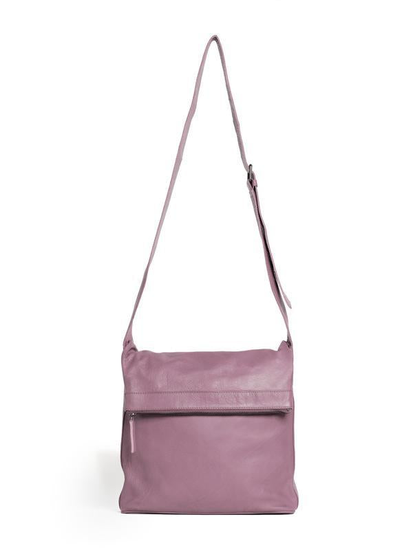 Sticks and Stones - Umschlagtasche Flap Bag - Mauve Pink