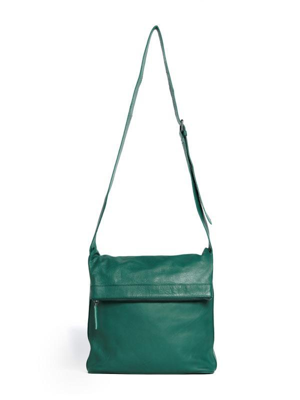 Sticks and Stones - Umschlagtasche Flap Bag - Pine Green