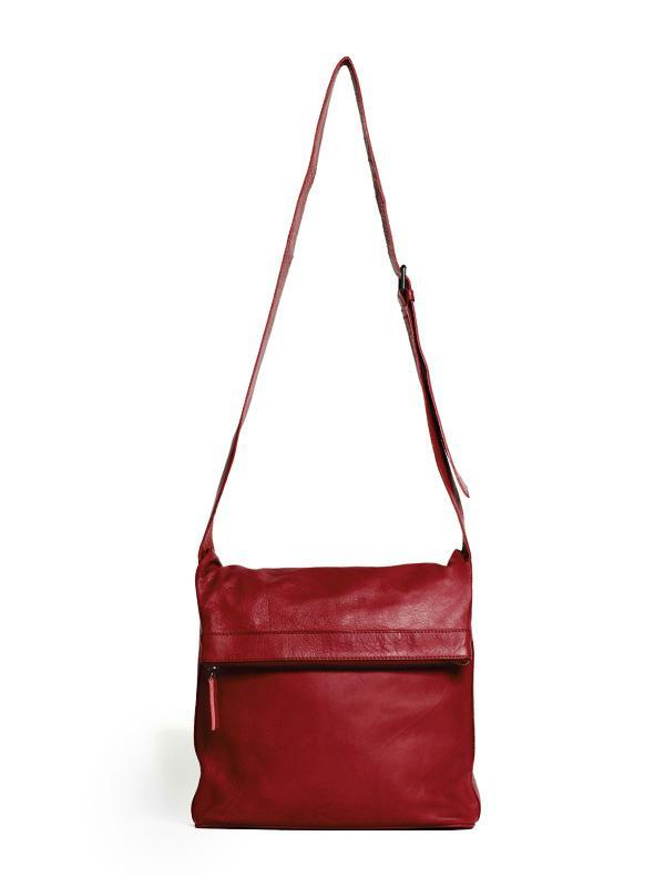 Sticks and Stones - Umschlagtasche Flap Bag - Red
