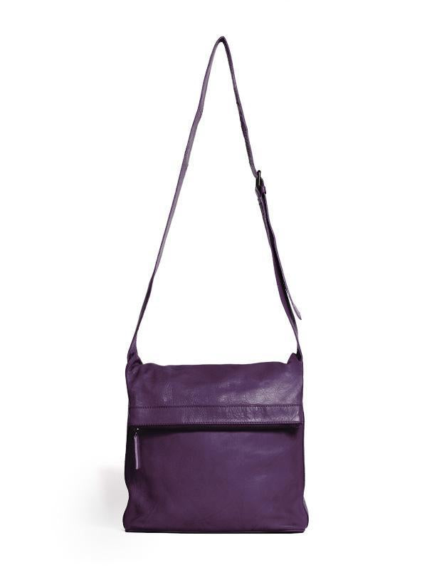 Sticks and Stones - Umschlagtasche Flap Bag - Shadow Purple