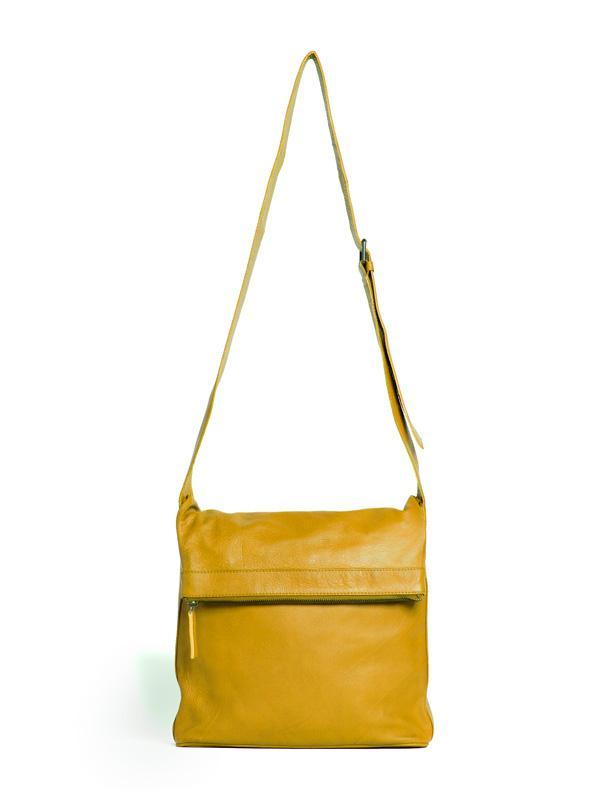 Sticks and Stones - Umschlagtasche Flap Bag - Yellow