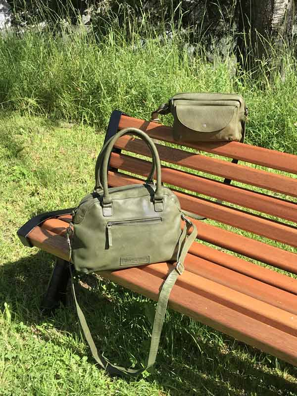 Sticks and Stones - Handtasche Frascati Bag und Carmel Bag - Dark Olive