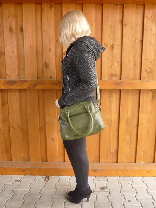 Sticks and Stones Frascati Bag – Dark Olive Tragevariante