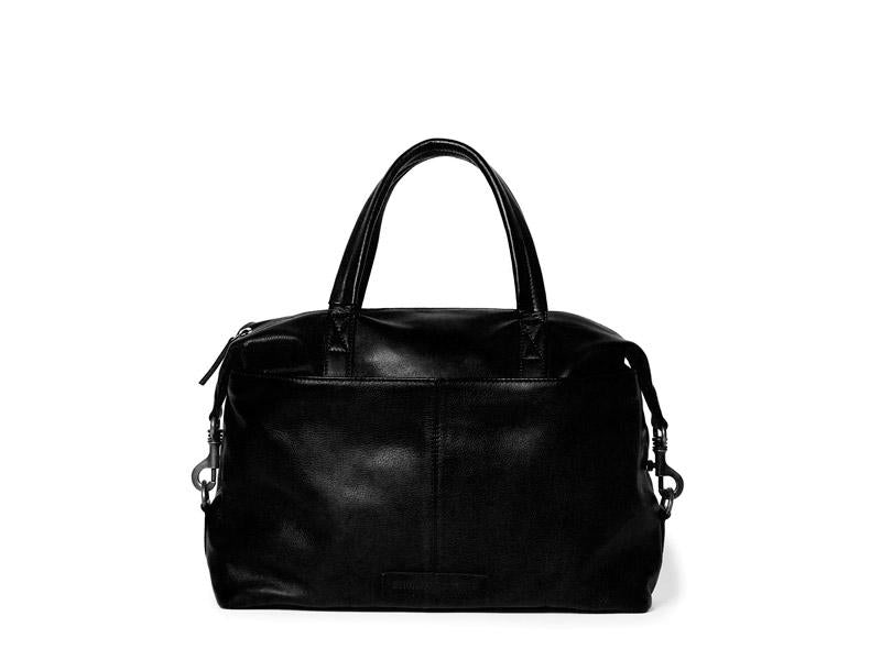 Sticks and Stones - Ledertasche Hamptons - Black