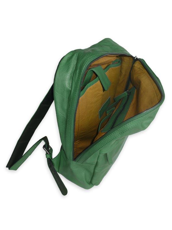 Sticks and Stones - Rucksack Harlem - Cactus Green Innenansicht