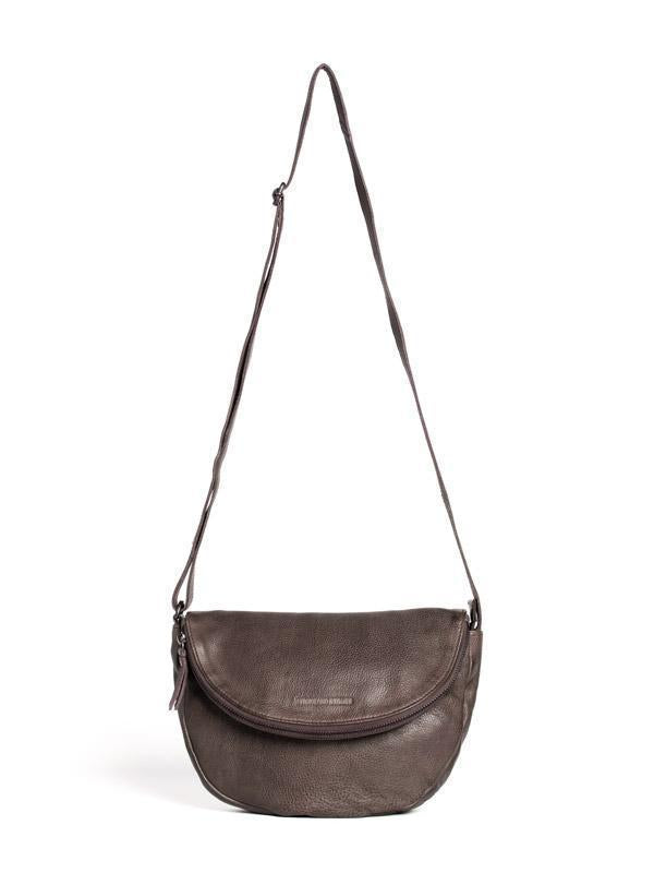 Sticks and Stones - Ledertasche Hervey - Taupe