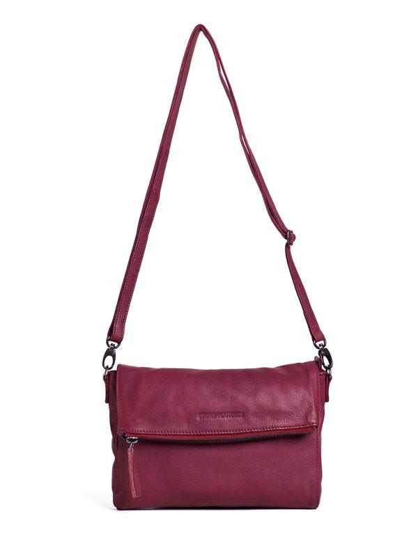 Sticks and Stones - Umschlagtasche Ipanema Bag - Mulberry Red