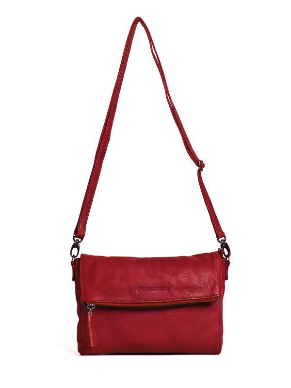 Sticks and Stones - Umschlagtasche Ipanema - Red