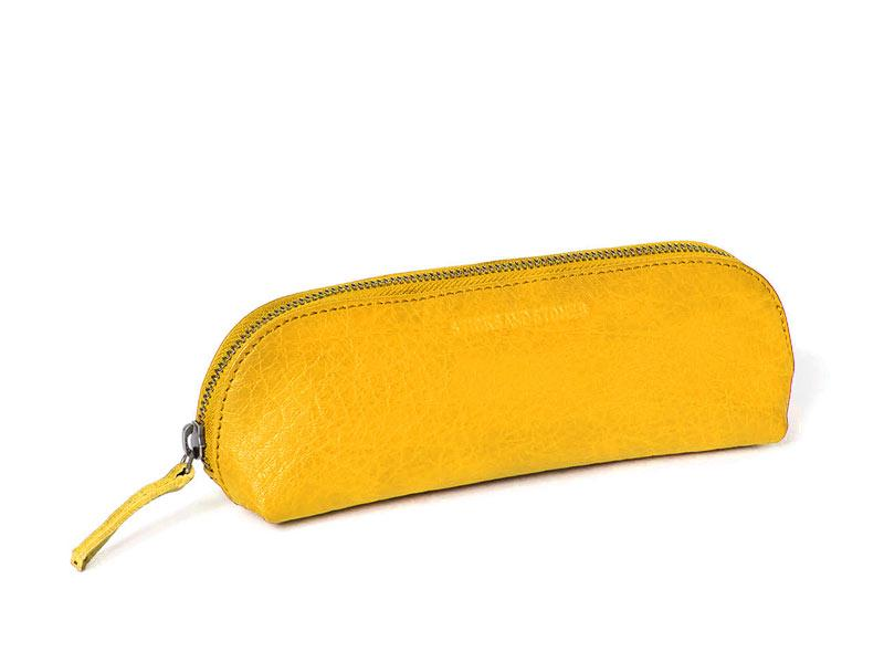 Sticks and Stones - Federtasche Kyoto - Yellow