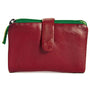 Laguna Wallet – Cherry Red