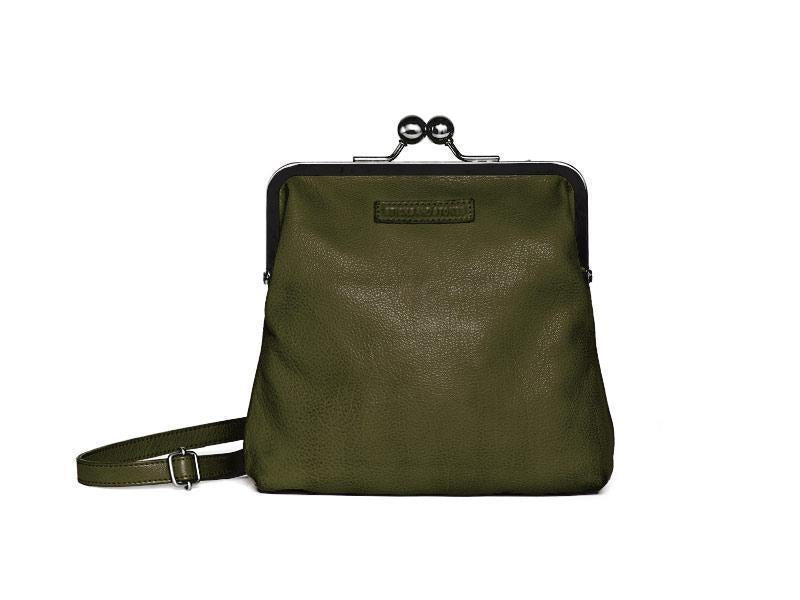 Sticks and Stones Le Marais Bag – Ivy Green Tragevariante