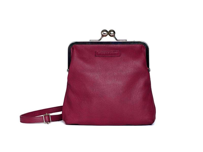 Sticks and Stones - Bügeltasche Le Marais Bag - Mulberry Red