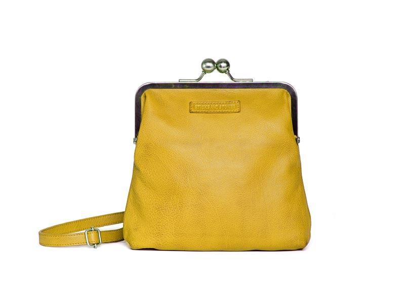 Sticks and Stones - Abendtasche Le Marais - Yellow