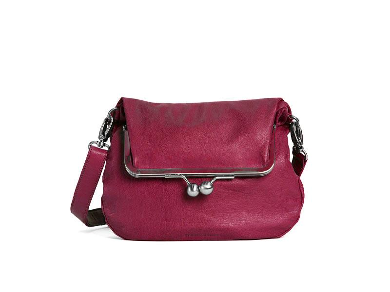 Sticks and Stones - Bügeltasche Lido Bag - Mulberry Red