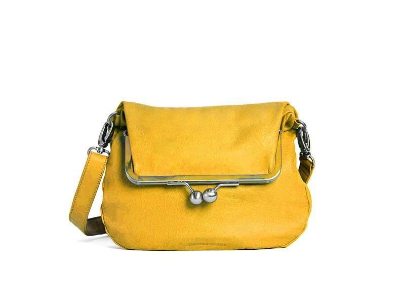 Sticks and Stones - Abendtasche Lido - Yellow