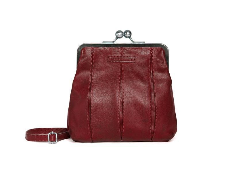 Sticks and Stones Luxembourg Bag – Cherry Red Tragevariante