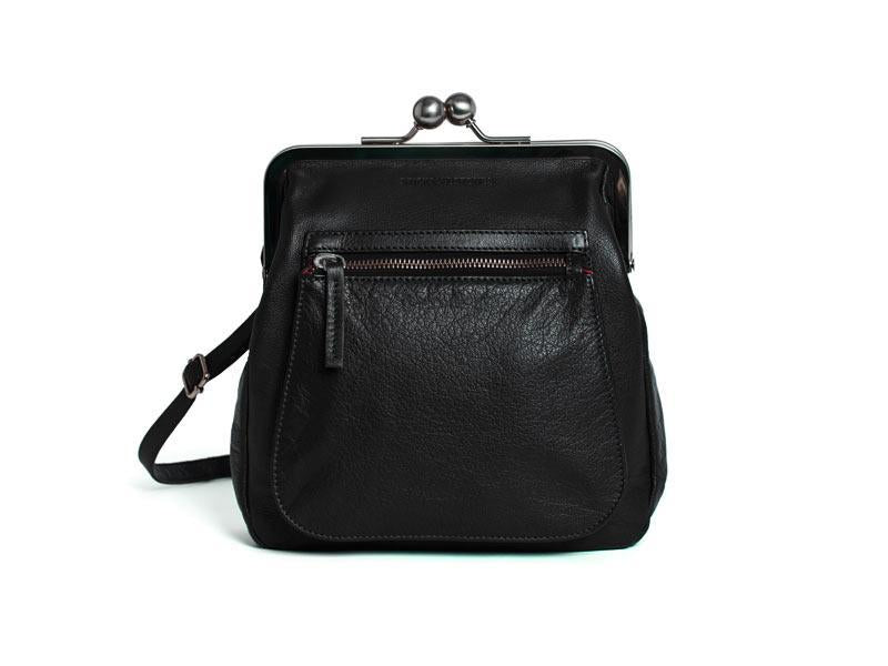 Sticks and Stones - Bügeltasche Lyon Bag - Black