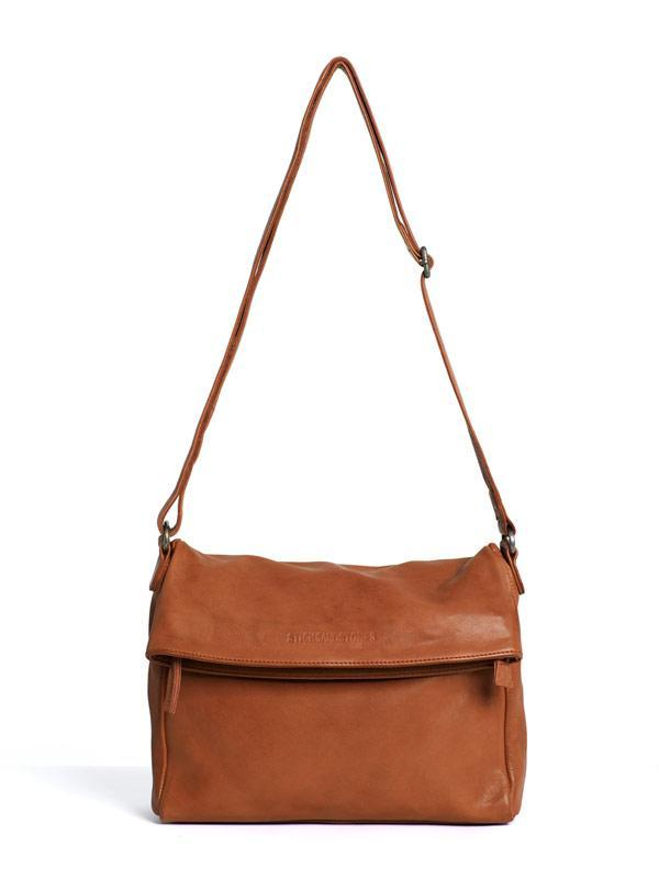 Sticks and Stones - Umschlagtasche Madison Bag - Cognac