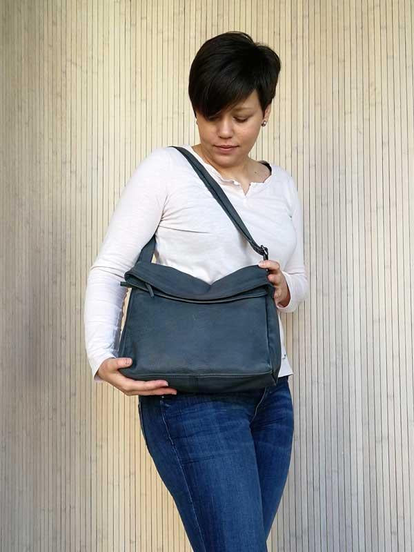 Madison Bag – Slate Blue
