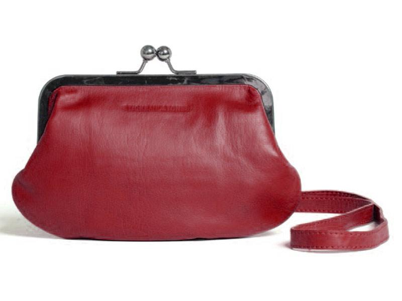Sticks and Stones - Abendtasche Malaga - Cherry Red