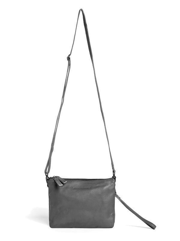 Sticks and Stones - Ledertasche Malta - Light Grey