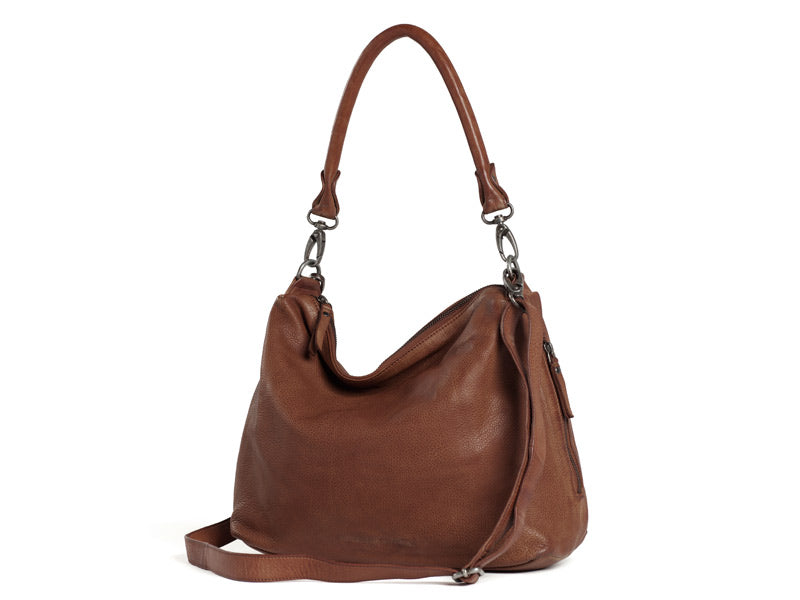 Sticks and Stones - Ledertasche Marbella - Mustang Brown