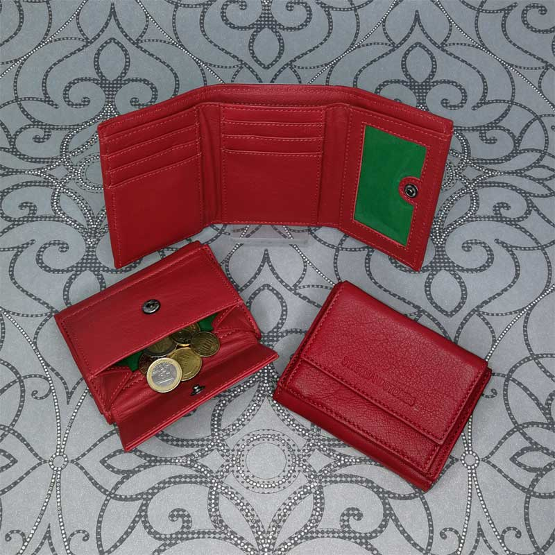 Sticks and Stones - Merida Wallet - Red - Alle Ansichten