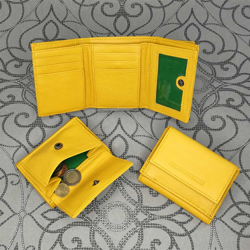 Sticks and Stones - Merida Wallet - Yellow - Alle Ansichten
