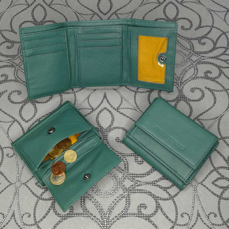 Sticks and Stones - Merida Wallet - Green Spruce - Alle Ansichten