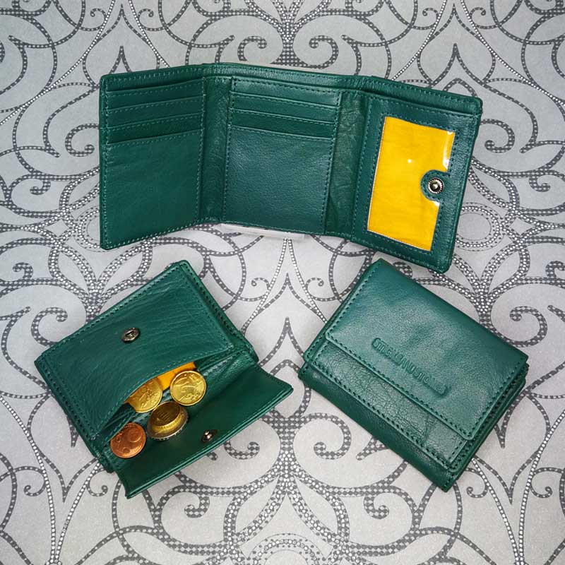 Sticks and Stones - Merida Wallet - Pine Green - Alle Ansichten