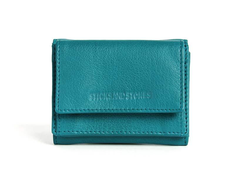 Sticks and Stones - Portemonnaie Merida Wallet - Deep Lagoon
