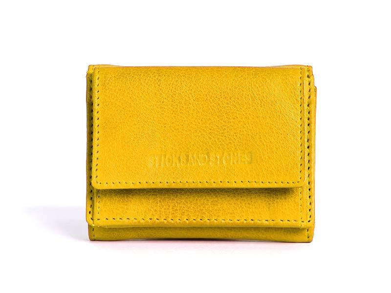 Sticks and Stones - Geldbörse Merida Wallet - Yellow