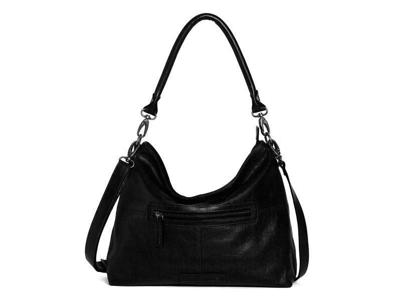 Sticks and Stones - Ledertasche Paris - Black