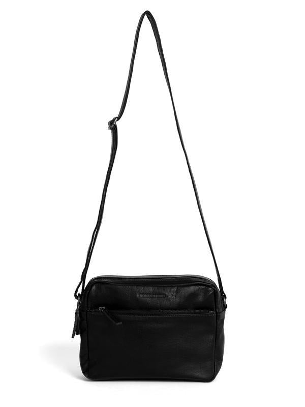 Sticks and Stones - Ledertasche Pasadena Bag - Black