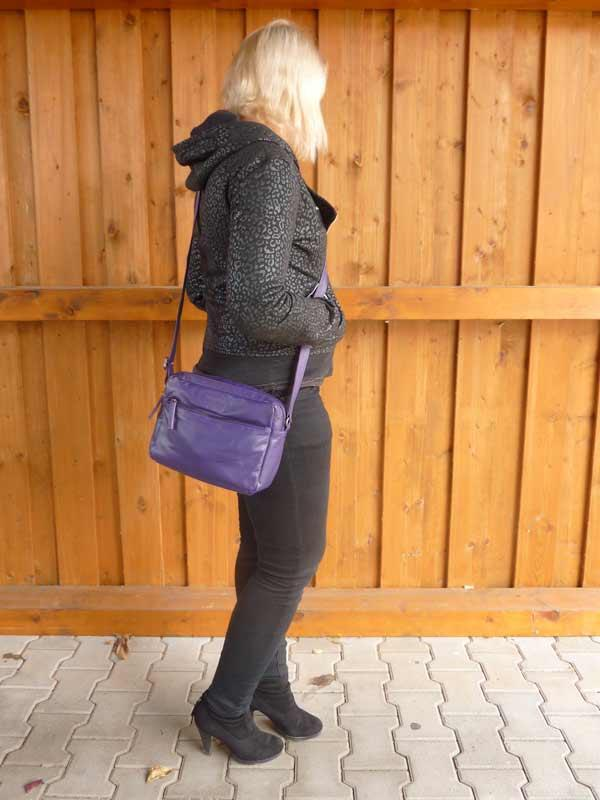Sticks and Stones - Ledertasche Pasadena Bag als Crossbag