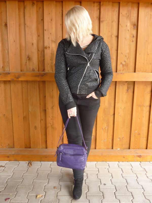 Sticks and Stones - Ledertasche Pasadena Bag als Handtasche