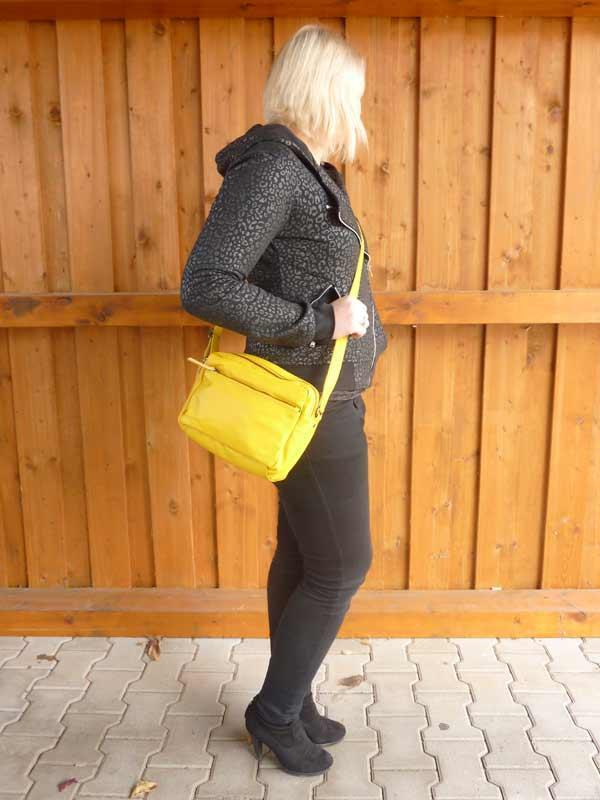 Sticks and Stones - Schultertasche Pasadena Bag - Yellow als Crossbag