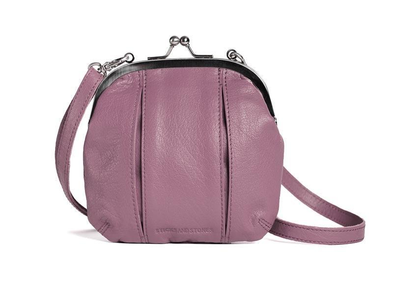 Sticks and Stones - Bügeltasche Ravenna Bag - Mauve Pink