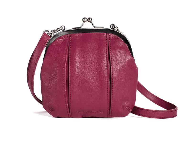 Sticks and Stones - Abendtasche Ravenna Bag - Mulberry Pink