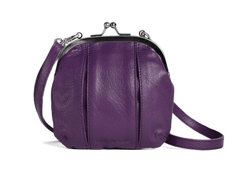 Sticks and Stones - Abendtasche Ravenna - Shadow Purple