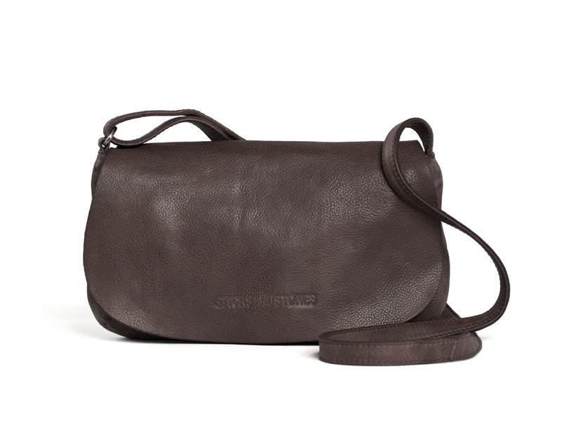 Sticks and Stones - Ledertasche Rio - Taupe