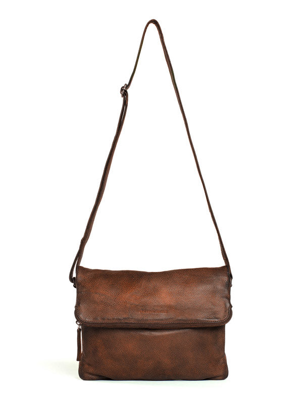 Sticks and Stones - Ledertasche Rosebery - Cognac