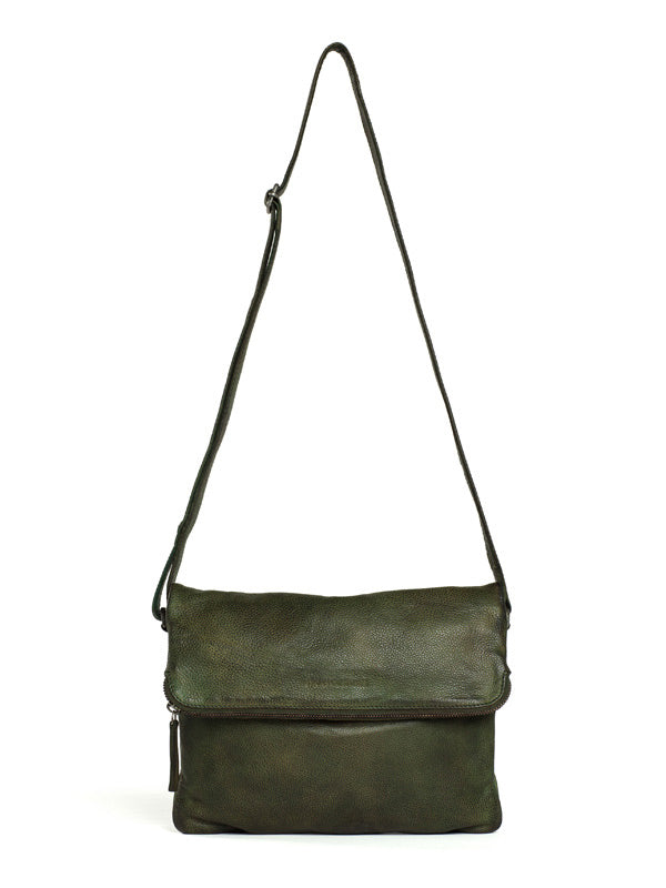 Sticks and Stones - Ledertasche Rosebery - Dark Olive