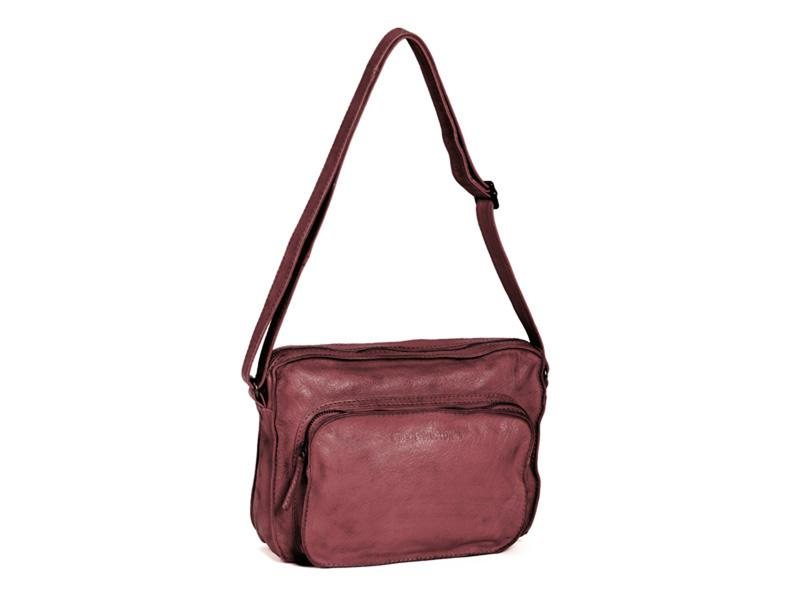 Sticks and Stones - Ledertasche San Telmo - Ruby Red