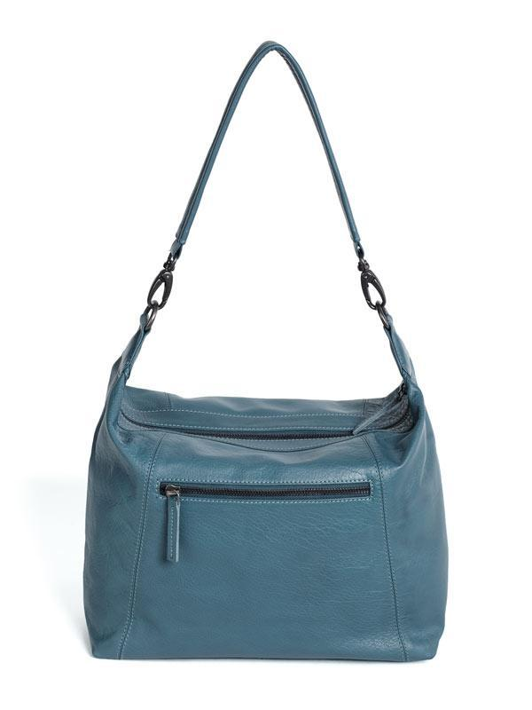 Sticks and Stones - Ledertasche Savona Bag - Denim Blue